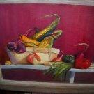 ORIGINAL Framed Still Life Composition Painting