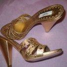 NEW Prada Gold Sandals - US 8/EU 38.5