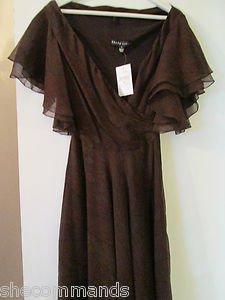 NEW Ralph Lauren Black Label Collection Silk Dress - US 6