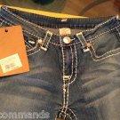NEW True Religion Billy Big T Urban Cow Women's Jeans - 28
