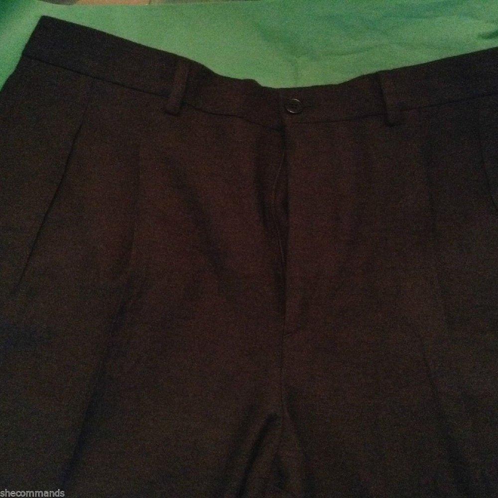 NEW John Varvatos Mens Wool Dress Pants - US 34