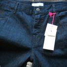 NEW SEE by Chloe Dark Blue Cropped/Capri Denim Jeans - Sizes 29 and 30