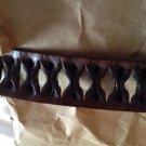NEW John Varvaros Men's Leather Belt - 2  Styles/Colors - Black or Brown - 36