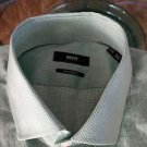 NEW Hugo Boss Regular Men's Cotton Dress Shirt - 17.5/34-35