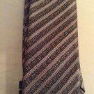 NEW Missoni Men's Silk Black Lettered Tie