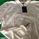NEW Corneliani Men's Silk-Blend Polo Shirt - 52