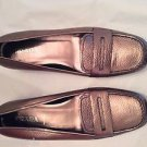 NEW Prada Metallic Leather Flats - 38.5