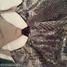 NEW Rachel Roy Signature $695 Silk and Sequin Sleeveless Dress - 10