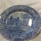 Spode Blue Room Collection Dinner Plate w/ Hanger - Castle