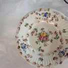 VINTAGE Set of 10 Handpainted Made in Italy Small Plates - 7""