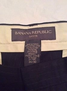 NEW Banana Republic Gavin Black Pants - 34/30