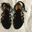 NEW Paul Green Handmade Black Suede Gladiator Sandals - AU 3.5 / US 6