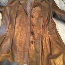 NEW Lafayette 148 Bronze Leather Jacket - 4