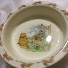 VERY GOOD CONDITION  Royal Doulton Bunnykins Baby/Childs Bowl - To the Hunt Ball
