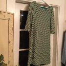 NEW M Missoni Chevron Knit Weave Dress - L