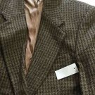 NEW J. Riggings Men's $175 Alpaca-Wool Blend Houndstooth Blazer/Jacket - 42R