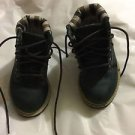 EXCELLENT CONDITION Timberland Blue Suede Toddler Ankle Boots - 5.5