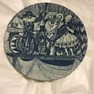 EXCELLENT CONDITION Rare Vintage Nymolle Pottery Ceramic Plate - 6""
