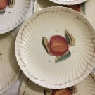 EXC. 1930s Set 8 Susie Cooper Fruit Design Plates Crown Works Burslem England