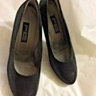EXCELLENT CONDITION Paul Green Black Leather Platform Heels - US 10/UK 7