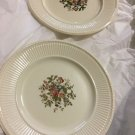 """VINTAGE WEDGWOOD Edme Conway Pattern Luncheon Plates - 9"""""""