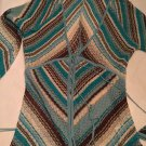 EXCELLENT CONDITION Karen Millen Chevron Knit Long Sleeve Cardigan - Size 1
