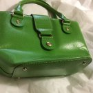 EXCELLENT CONDITION Kate Spade Bright Green Leather Tote Handbag