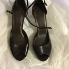New Talbots Collection Parsons Open-Toe Ankle-Strap Shoe - 9.5 M