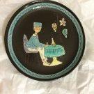 "AUTHENTIC Kohler Biel Glazed Pottery Plate #1 - 8"""