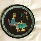 "AUTHENTIC Kohler Biel Glazed Pottery Plate #2 -  8"""