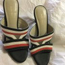 NEW Andre Valentino Leather Mules - 35/5