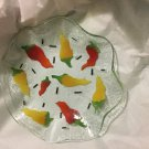 """EXCELLENT CONDITION Sydenstricker Art Glass Bowl With Ruffled Edge - 8.5"""""""