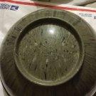 "Texas Ware #118 Black/Green/Gray Confetti Spatterware Melmac Mixing Bowl - 9.75"""