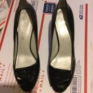 EXCELLENT CONDITION  Delman Patent Leather Open Toe Slingback Pumps - 10M