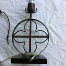 "EXCELLENT CONDITION VIctoria Hagan Perfect Pieces Metalwork Lamp - 10.5""T"