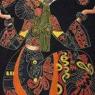 """ORIGINAL Art Batik Hanging using Lost Wax Technique - 32"""" T x 26.75"""" W"""