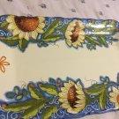 EXCELLENT CONDITION Sorrento Italian Ceramic Serving Tray w/ Handles