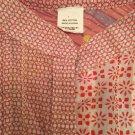NEW Desigual Womens Patchwork Cotton Button-front Shirt - L