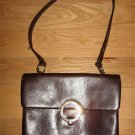 Saks Fifth Ave Chocolate Brown Purse