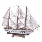 Wood Model Schooner  Item: 32222