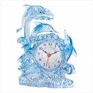 Dolphin Fantasy Clock Item: 38935