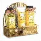 Vanilla Caramel Bath Set   Item: 38672