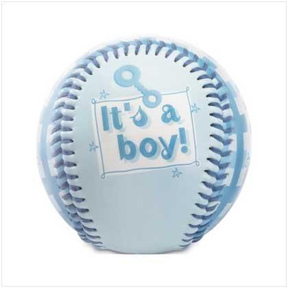"""It's A Boy!"" Blue Baseball"
