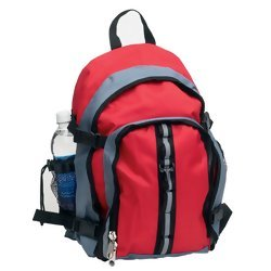 Maxam Polyester Backpack  Item: LUBPRG