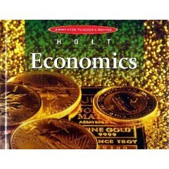 HOLT ECONOMICS-Excellent TEACHER EDITION BOOK