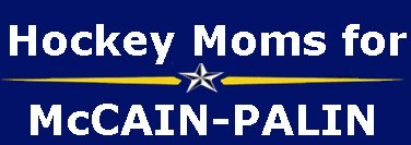 3 Hockey Moms for McCain Sarah Palin Bumper Stickers