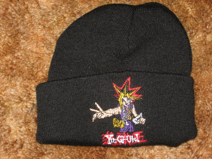 Yu-Gi-Oh Boys Winter Knit Beanie Hat Preschool Size