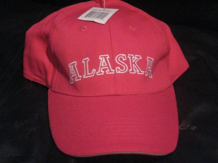 Hot Pink Alaska Ladies Alaskan Baseball Hat Cap
