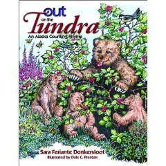 Out On The Tundra Donkersloot Alaska Counting Rhyme Book