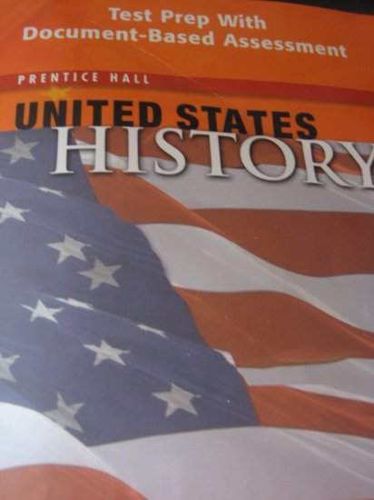 Pearson Prentice Hall United States History Test Prep With Document-Based Assessment BOOK